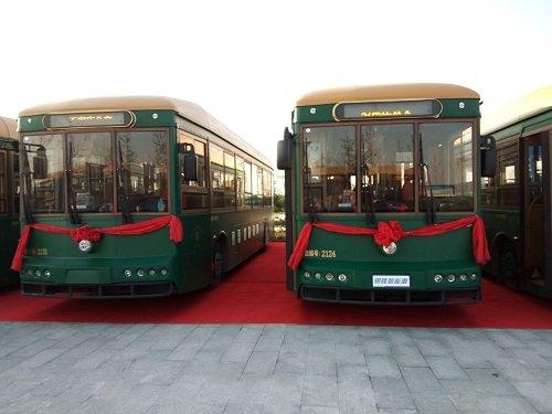 石家庄铛铛公交车