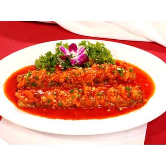 丝瓜 虾仁 美食 产品图片