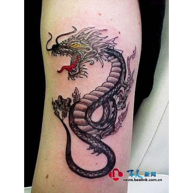 专业刺青专家纹身品质保证从事刺青行业多年